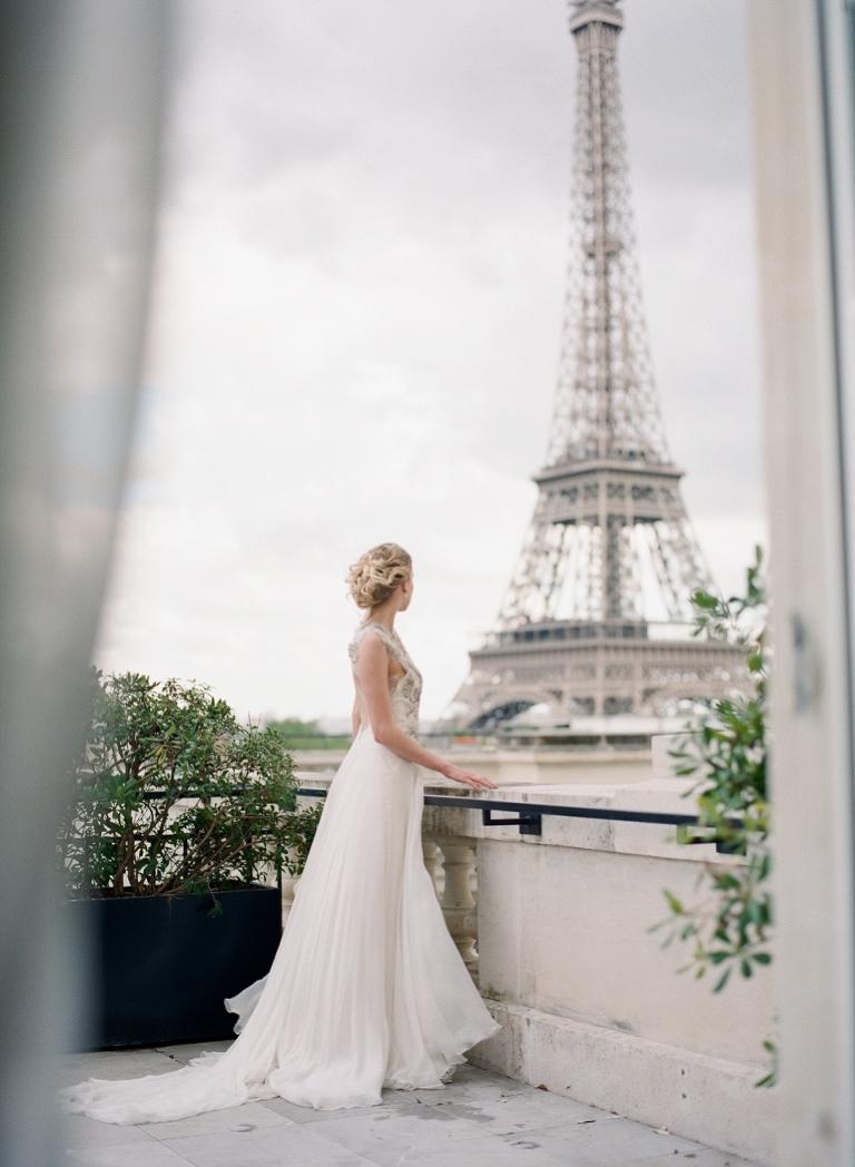 Shangri-La Paris wedding photography